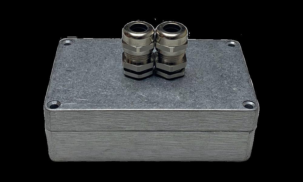 Aluminium RF montagebox blank aluminium