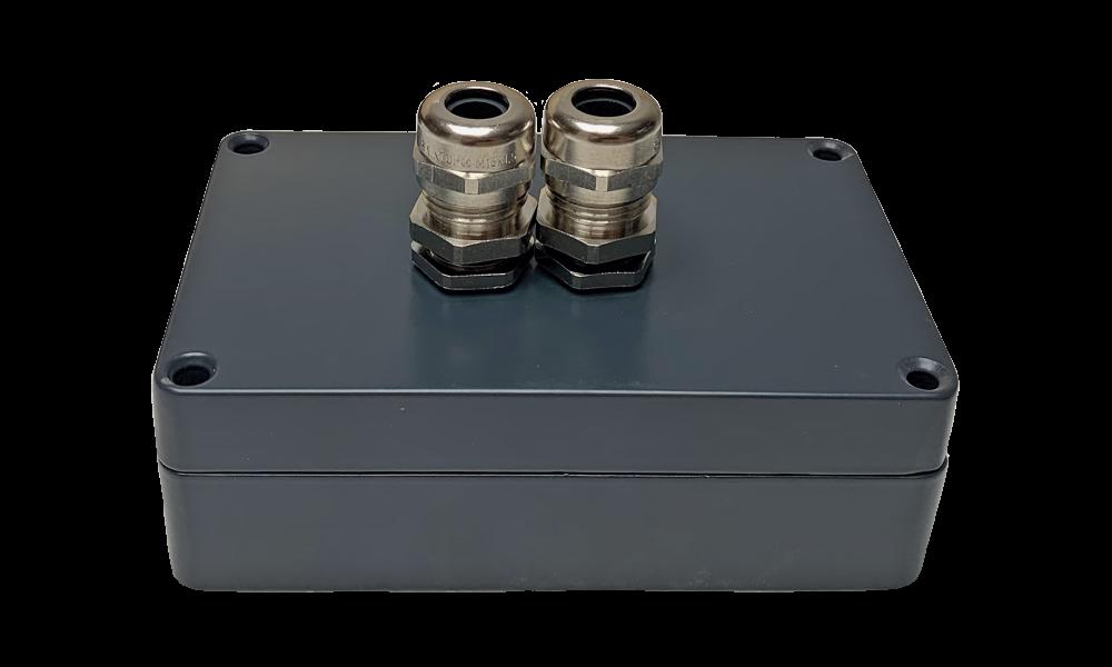 Aluminium RF montagebox antraciet