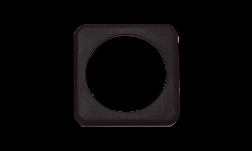 Alke rubber vierkante pakking tbv magneetklep stekker 4-p