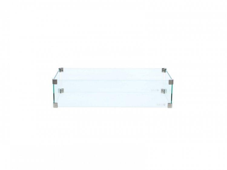 Cosi rectangular glass set