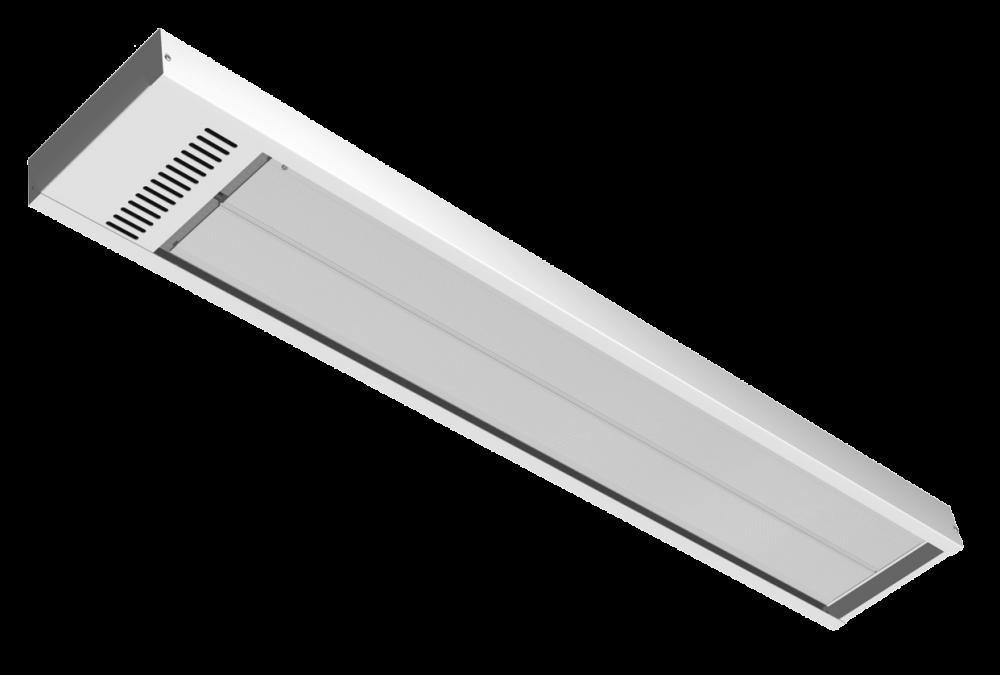 Energo Strip 600 wit RAL 9010 hoog temperatuur paneel
