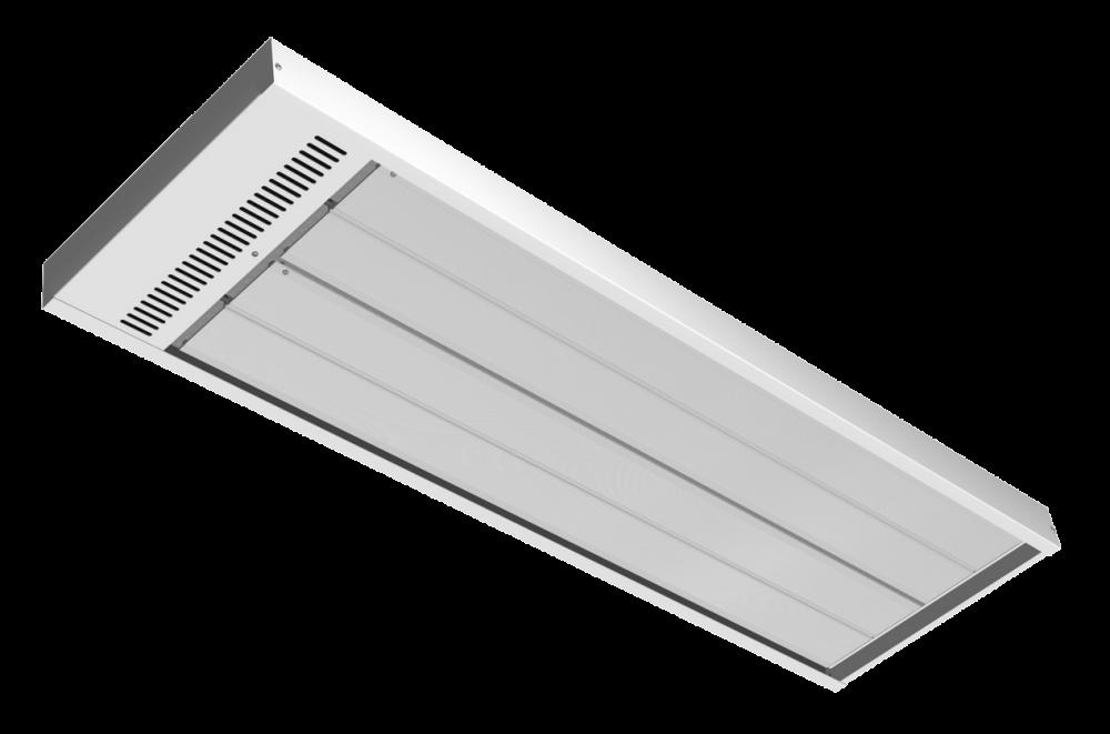 Energo Strip 1200 wit RAL 9010 hoog temperatuur paneel