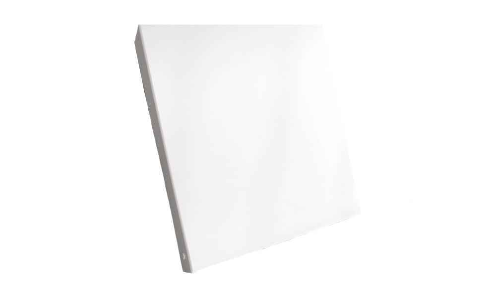 JLF LT-G 600 wit RAL 9010  glad laag temperatuur paneel