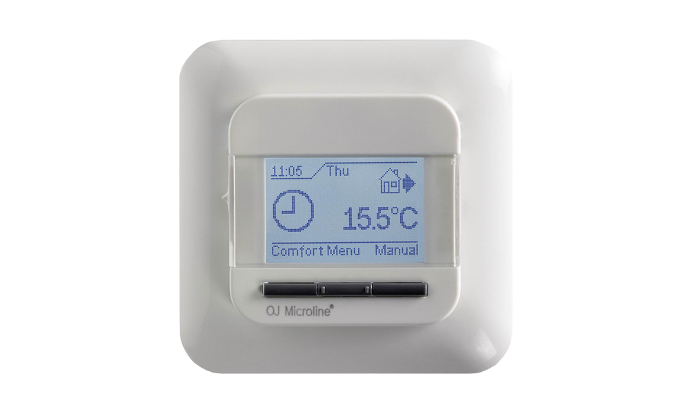 OJ OCD 4 digital thermostat incl. Ext. sensor, 230VAC / 16A ohms