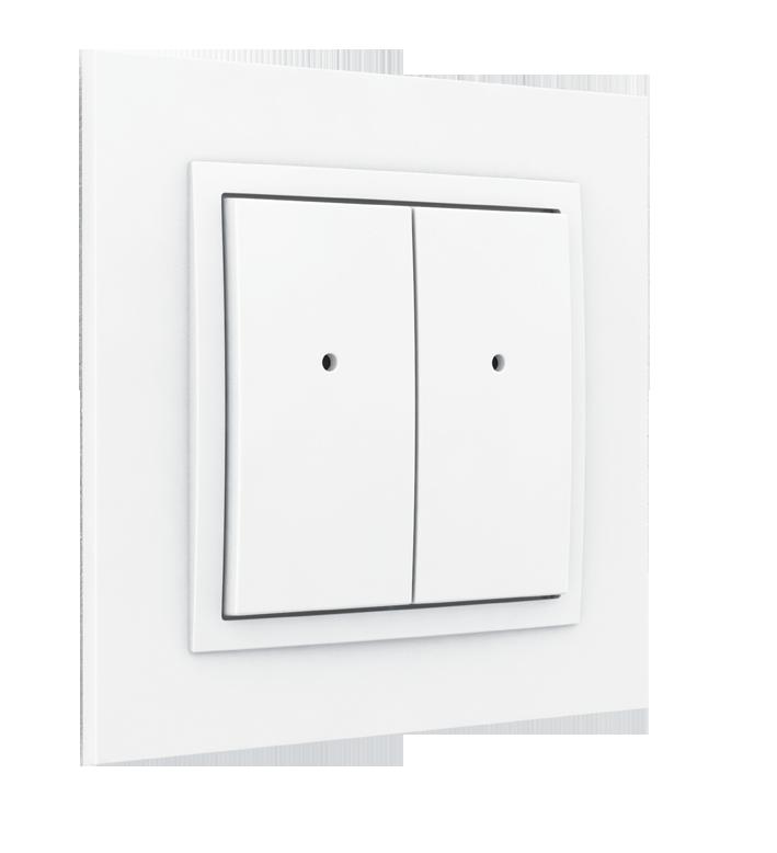 Elko EP RFWB-40 / G slice switch white 4-channel