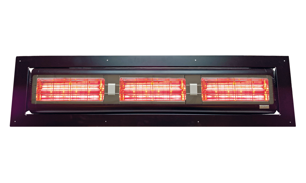 Tansun Sorrento inbouw 6,0 kW zwart