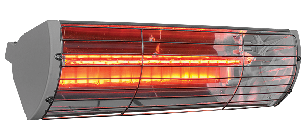 Victory VLRW15 Silver RAL 9006 Goldlamp patio heater