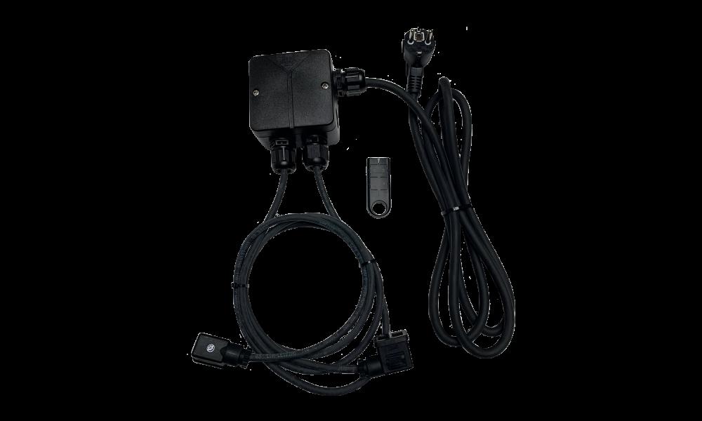 JLF draadloze schakelset plug&play met hoog/laag of 2 gastoestellen aan/uit